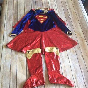 Girls DC SUPERHERO SUPERGIRL Halloween costume